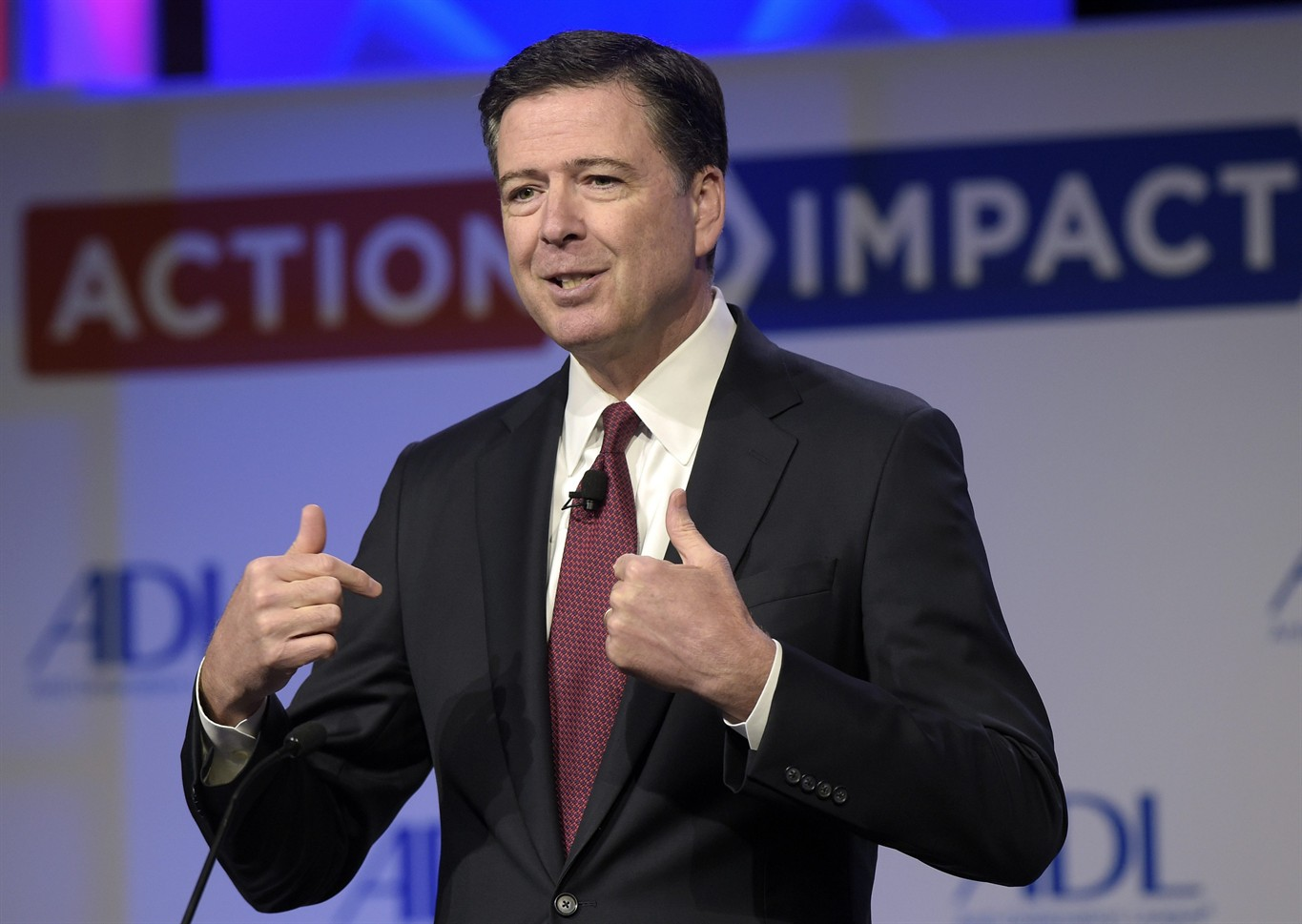 Officials say Trump may not try to block Comey's testimony