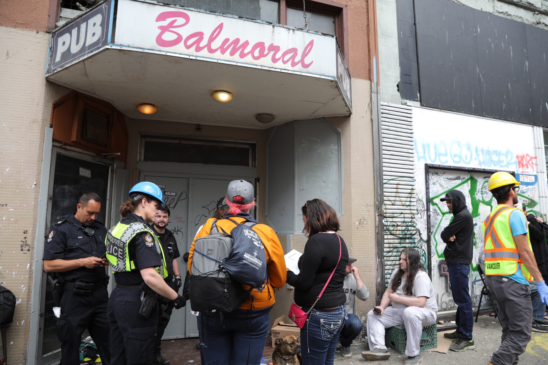 eviction day for balmoral hotel residents - news 1130