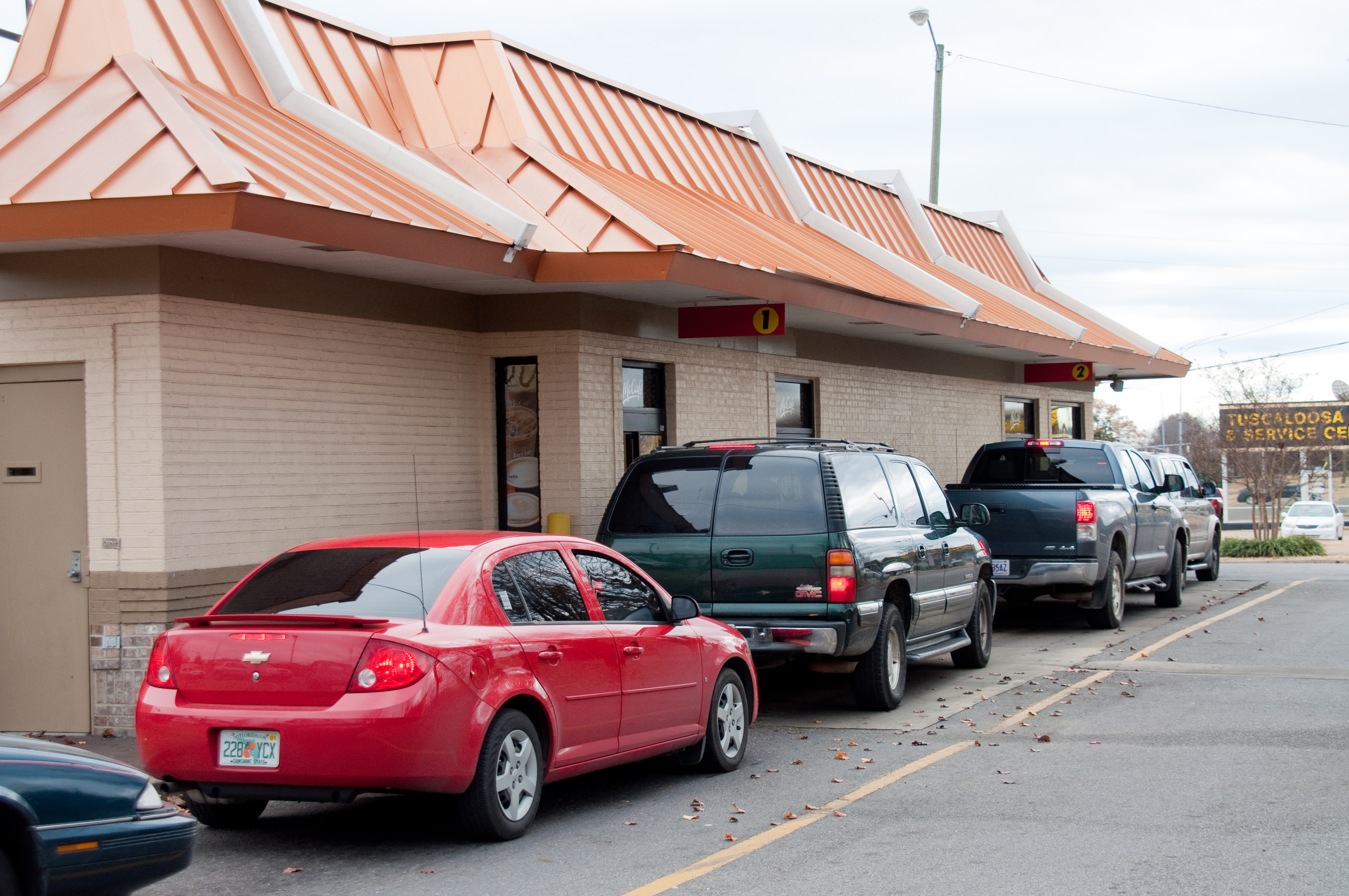 how to use mcdonalds double drive thru
