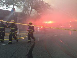 Kerrisdale blaze