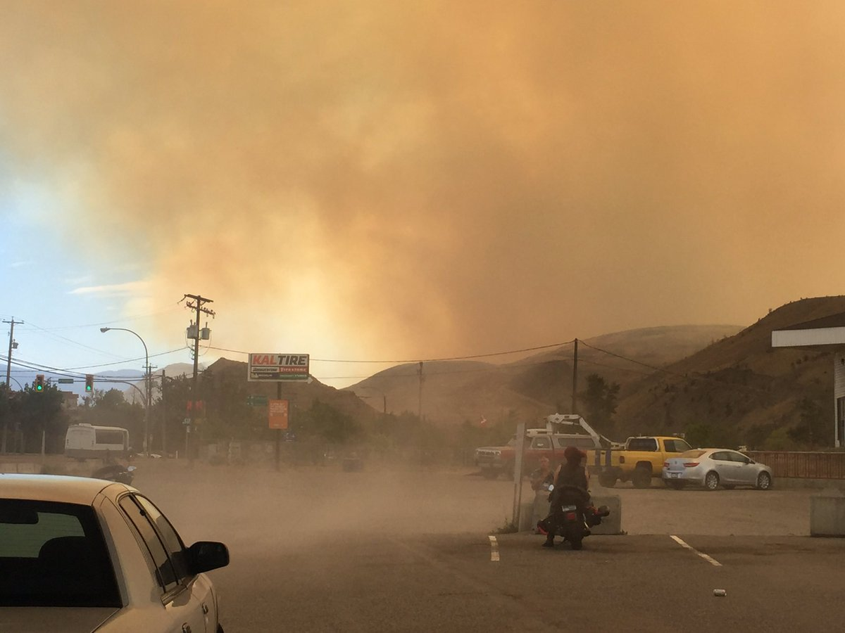 Ashcroft Fire Grows To 700 Hectares News 1130