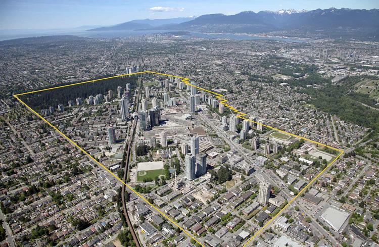The Metrotown Downtown Plan