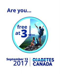 Free @ 3pm in support of Diabetes Canada @ Your Office