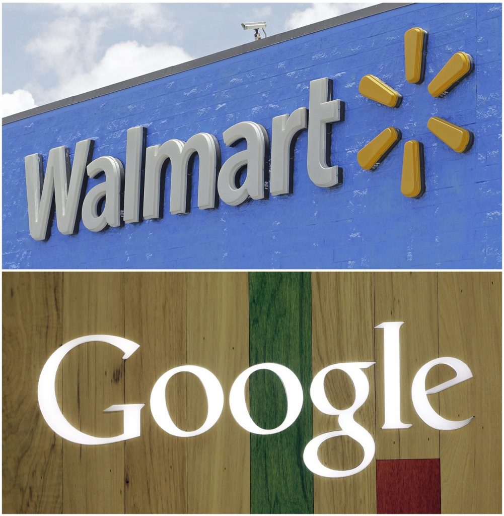 U.S. retail giant Walmart announces voice-activated shopping tie-up with Google