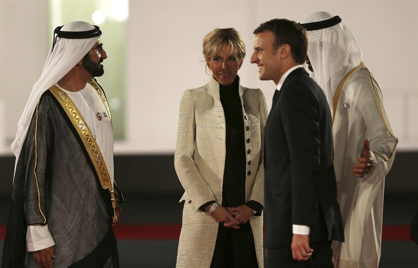 France's Macron, Arab leaders tour the Louvre Abu Dhabi