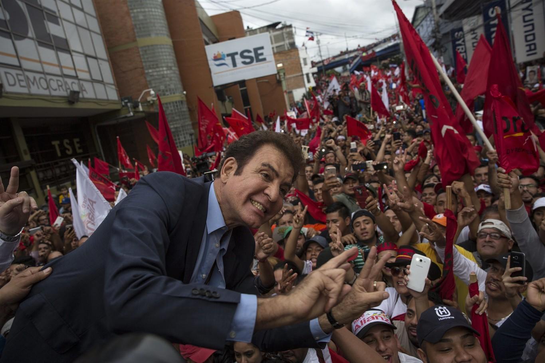 Honduras' Citizens Casting Ballots in Presidential Election
