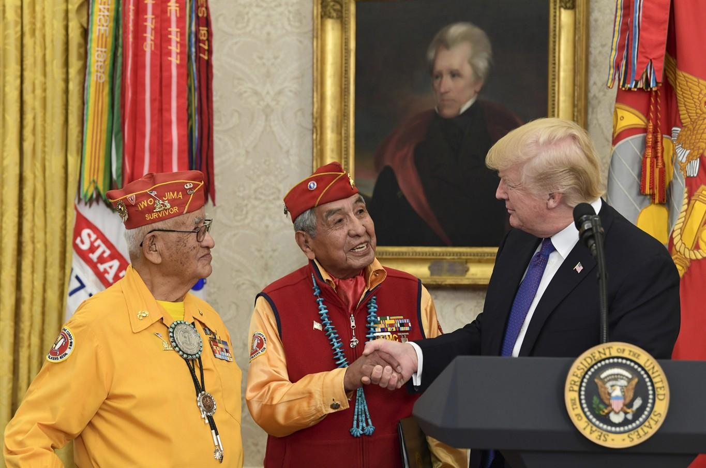 Donald Trump accused of racial slur