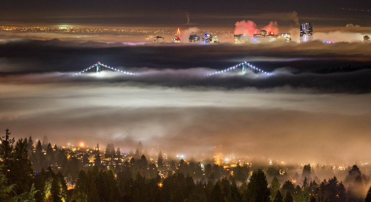 Environment Canada Issues Fog Advisory for Metro Vancouver