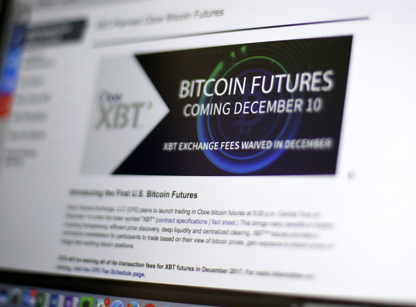 Bitcoin futures soar amid frenzy over virtual currency ...