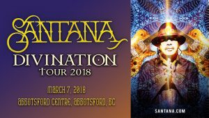 Santana - Divination Tour 2018 @ Rogers Arena | Vancouver | British Columbia | Canada