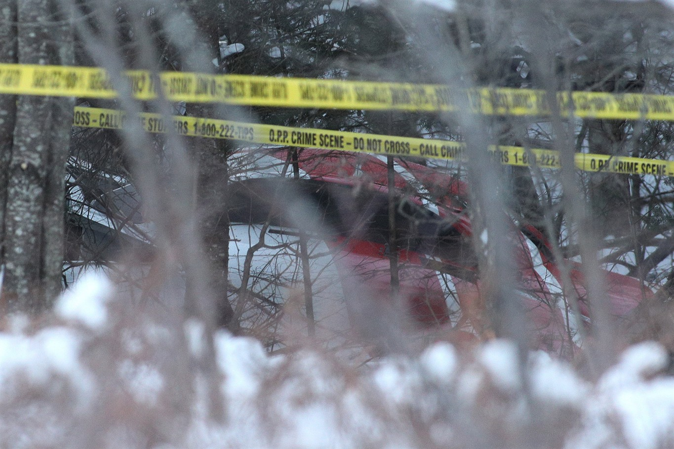 In Canada crashed helicopter: there are victims