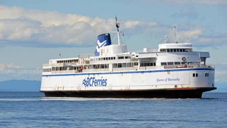 BC Ferries puts 1965 vessel up for sale, drops starting price