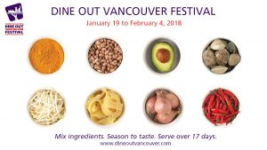 Dine Out Vancouver Festival 2018