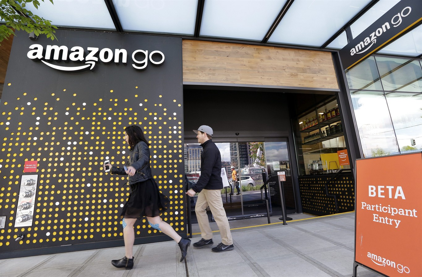 Amazon Go finally opens to public: A supermarket with no checkouts