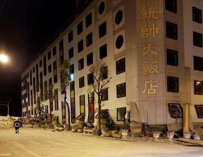 Shallow magnitude 6.4 quake strikes Taiwan - USGS