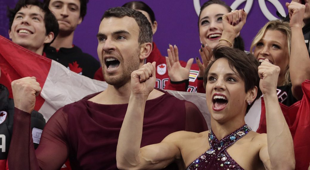Duhamel and Radford win Olympic bronze in pairs figure skating