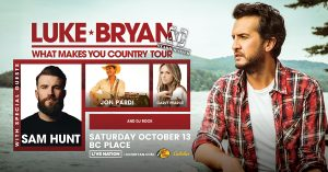 Luke Bryan: What Makes You Country Tour @ BC Place | Vancouver | British Columbia | Canada
