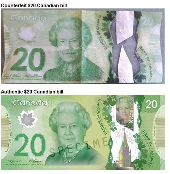 How To Spot Fake 20 Bills Circulating