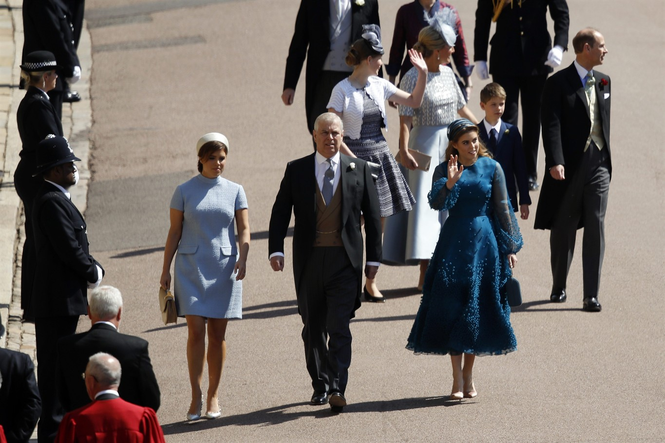 Royal Wedding Guests.It S All About The Well Plumed Hats For Royal Wedding Guests