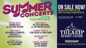 Tulalip Resort Casino Summer Concert Series @ Tulalip Ampitheatre