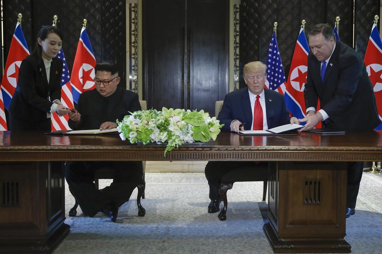 Summit removed N Korea nuclear threat, says Trump