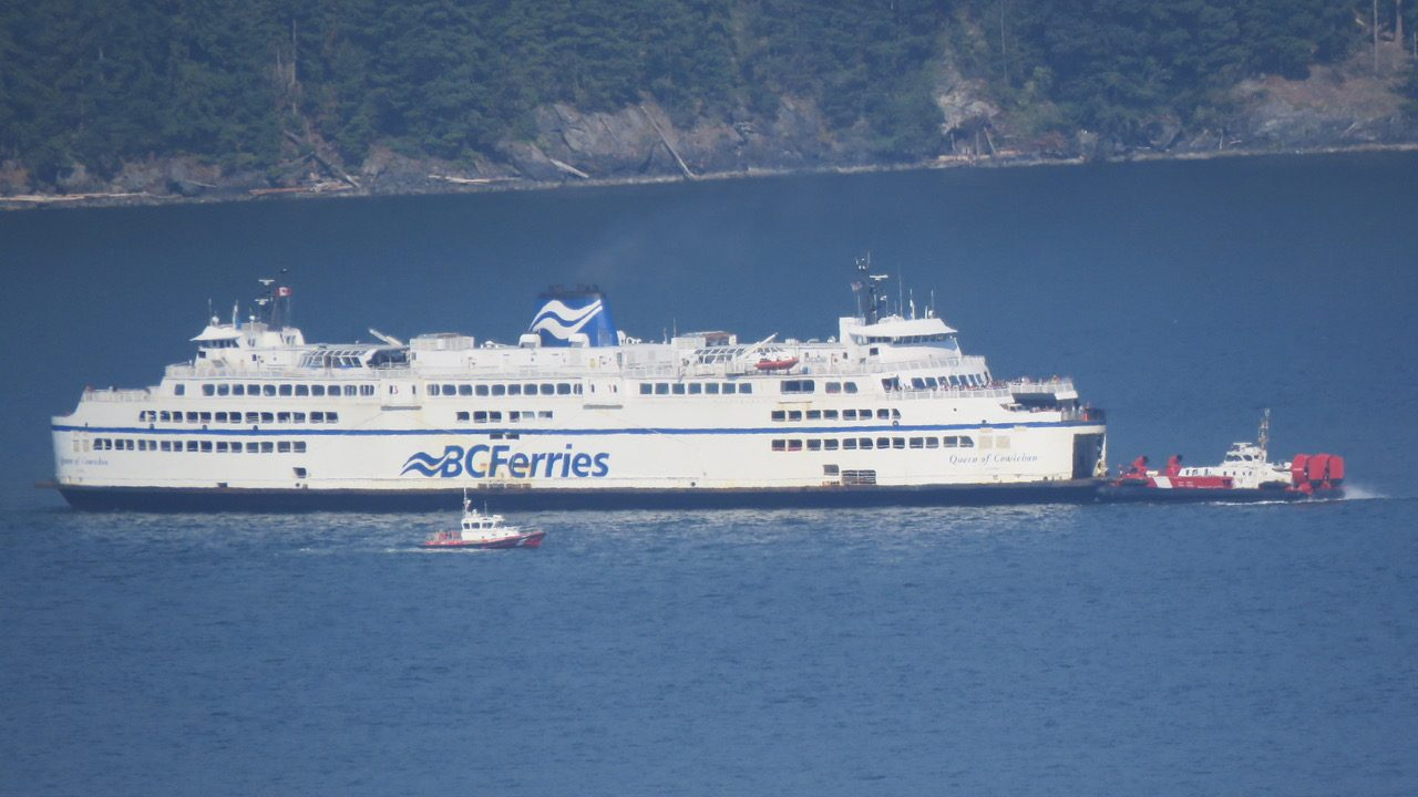 Dozens of BC Ferries passengers show up for sailing that never existed