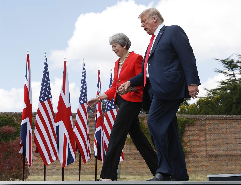 """Αποτέλεσμα εικόνας για TRUMP in the UK News, """"Jul 13, 2018"""""""
