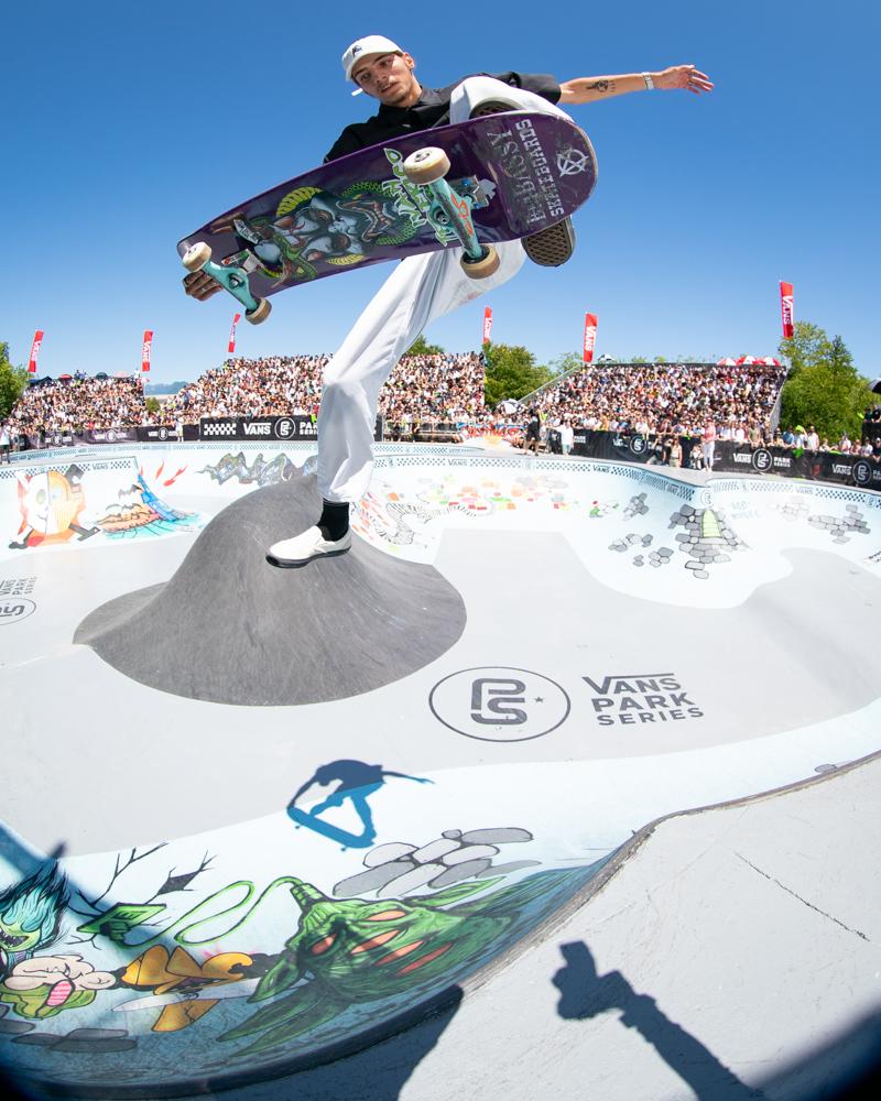 718a2740d4 Big names hit iconic Hastings Skatepark as part of Vans Park Series