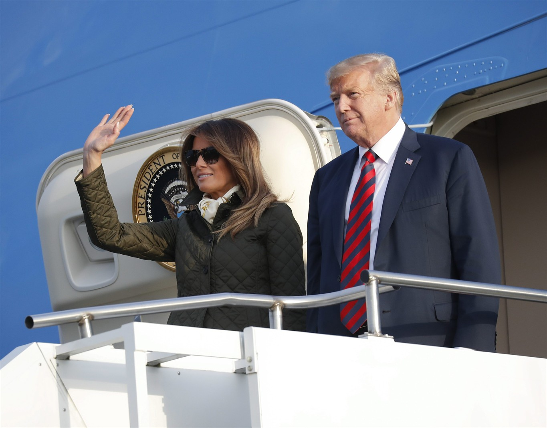 Trump paraglider was in 'grave danger'