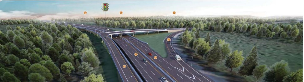 Overpass in Delta replaces traffic lights on Highway 91