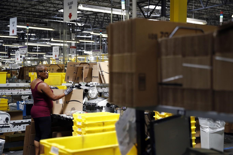 Watch Amazon warehouse worker slams working conditions in Guardian op-ed video