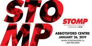 STOMP Live at the Abbortsford Centre @ Abbotsford Centre