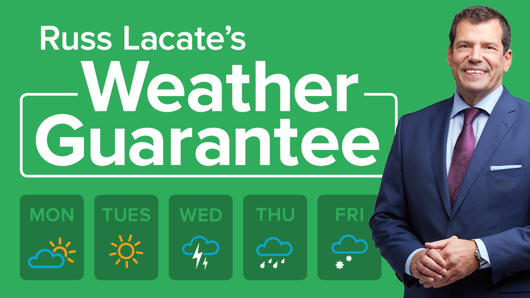 We have a Weather Guarantee winner!