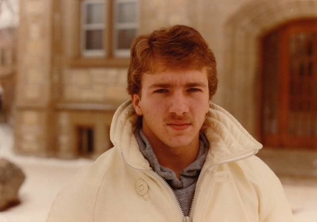 Dobroskay as a student at the University of Saskatchewan.
