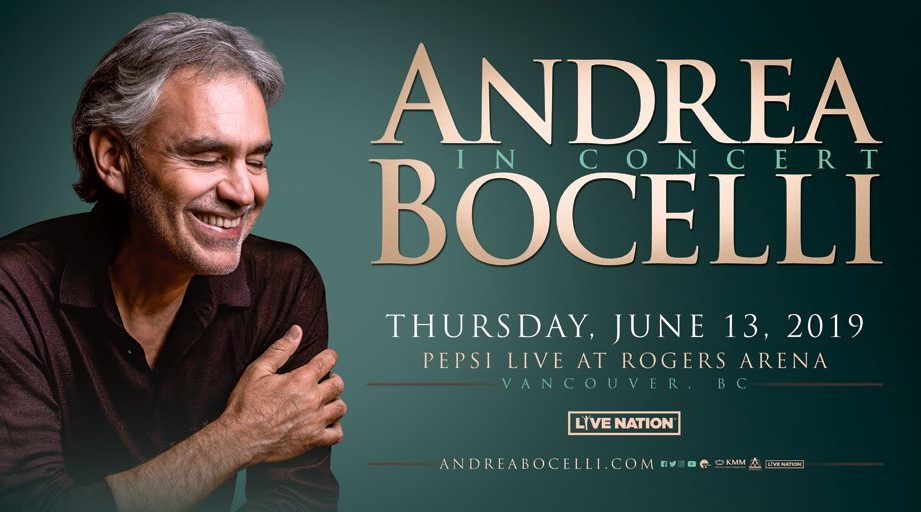 Win Tickets to See Andrea Bocelli in Concert! - NEWS 1130