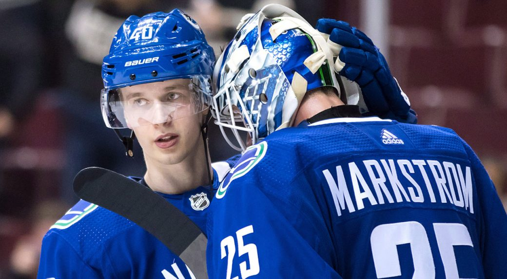 Vancouver Canucks first half report  Rebuild moving faster than expected d83e9dd4a