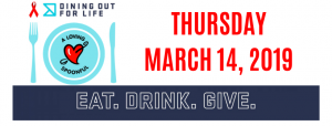 25th Annual Dining Out For Life Event @ Various Locations
