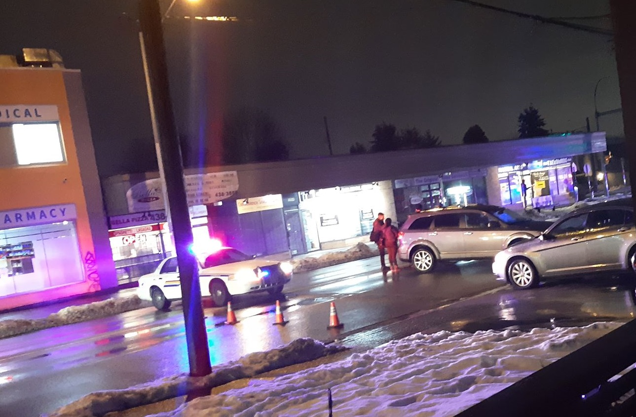 Multiple people injured in Burnaby road rage incident