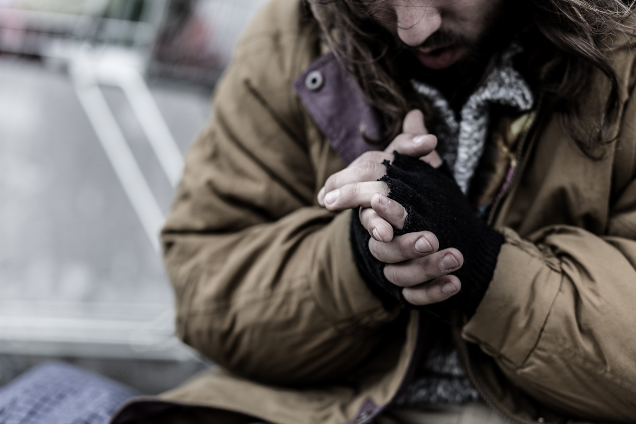 'They're sleeping in bushes, on the streets': Advocate says homeless suffering in this cold weather