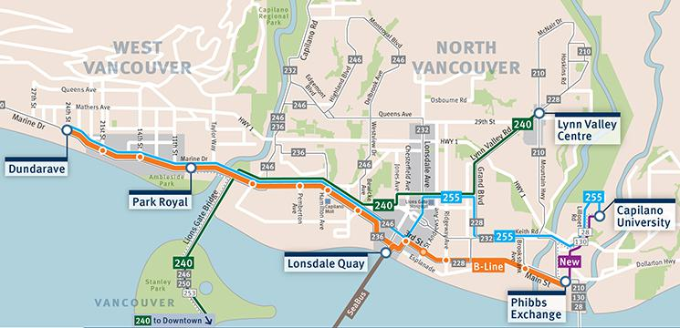 West Vancouver B Line Will Stop At Park Royal Keeping