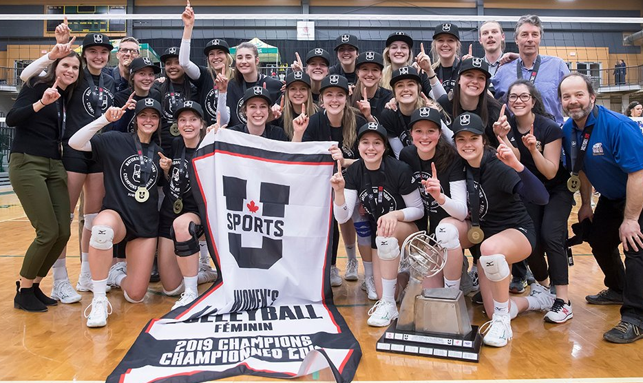 UBC and Trinity Western win national volleyball championships