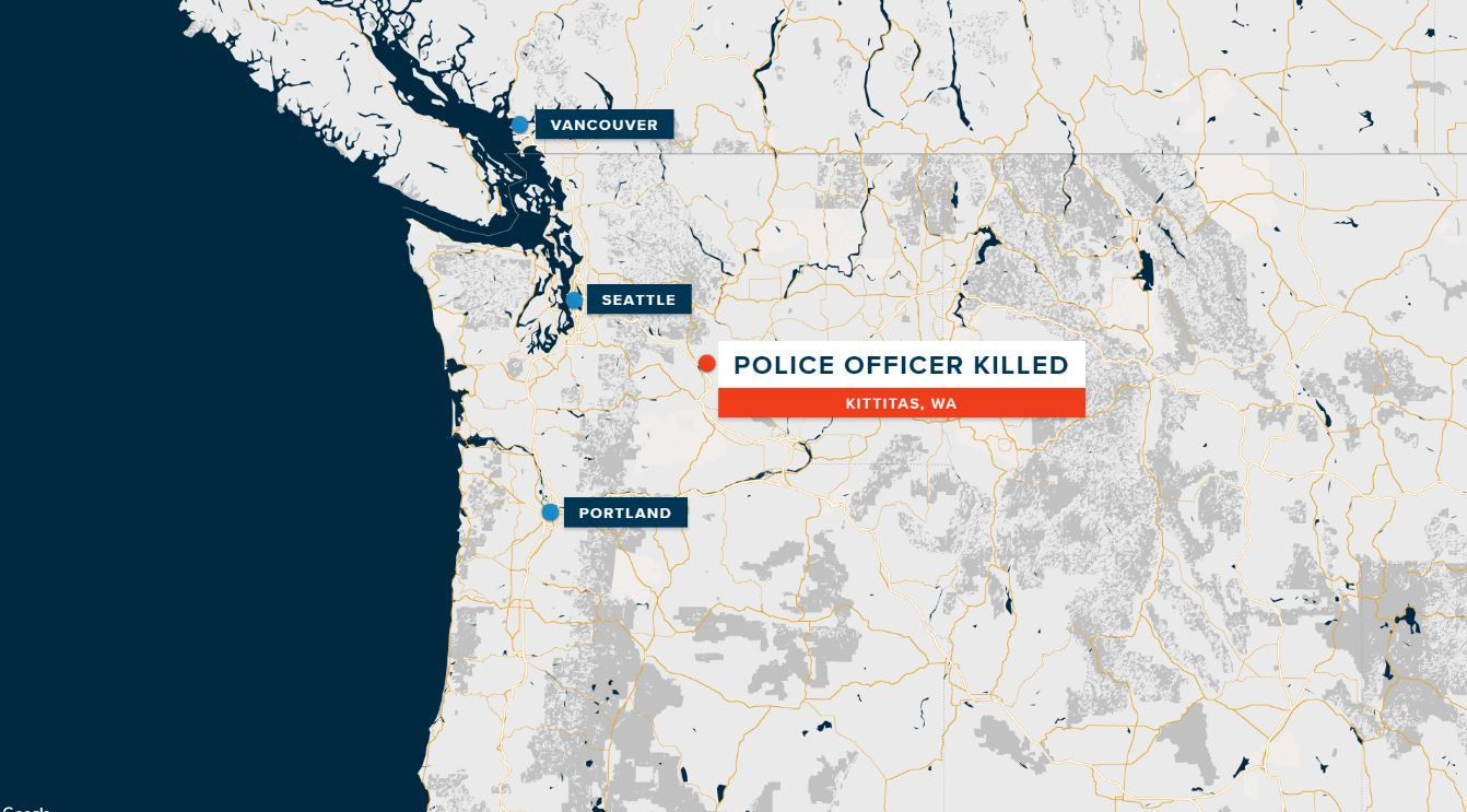 Police Officer Shot And Killed In Eastern Washington