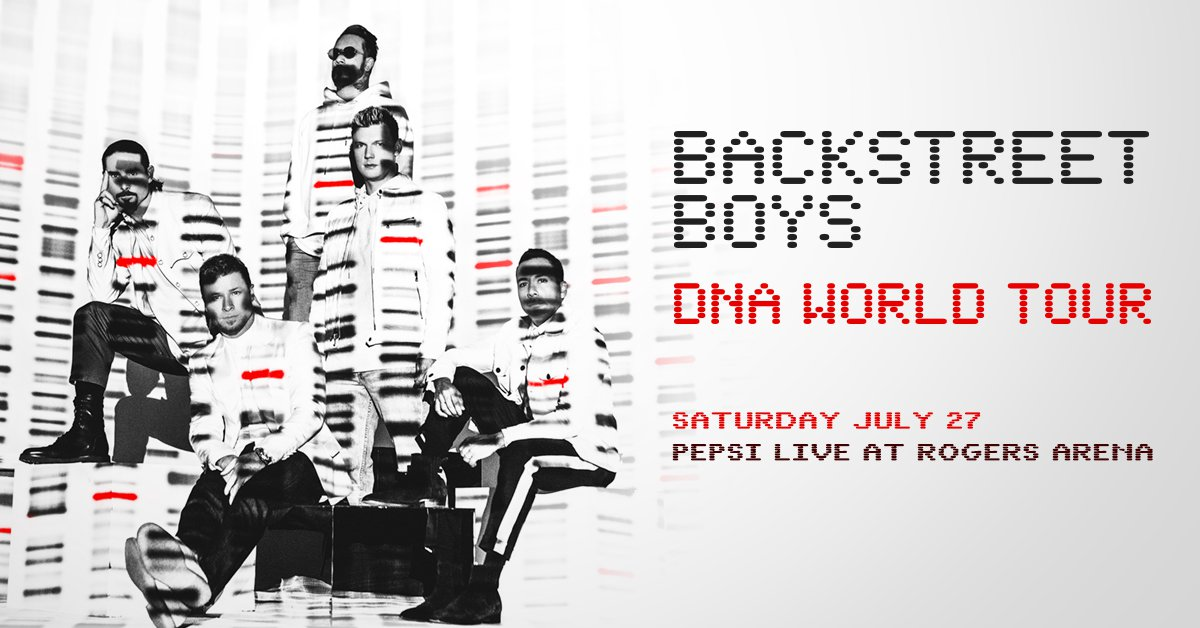 Backstreet Boys: DNA World Tour @ Rogers Arena