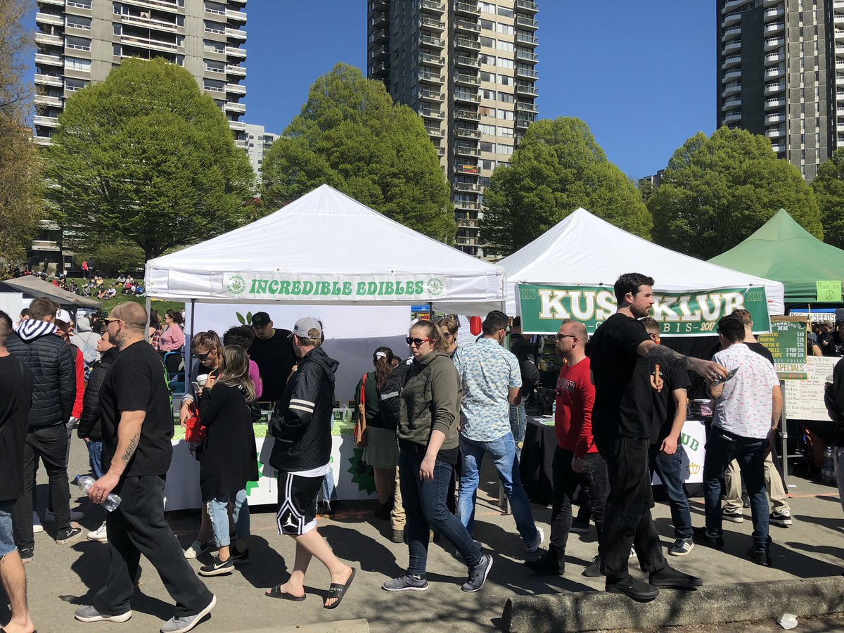 Vancouver's 4/20 passes in giant cloud of smoke