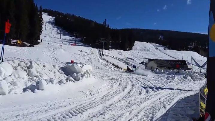 Snowmobiler killed in race at Sun Peaks Resort