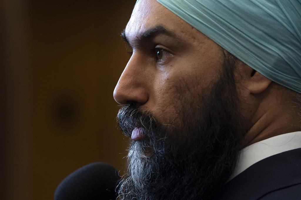 NDP's Jagmeet Singh walks back talk of coalition with Liberals
