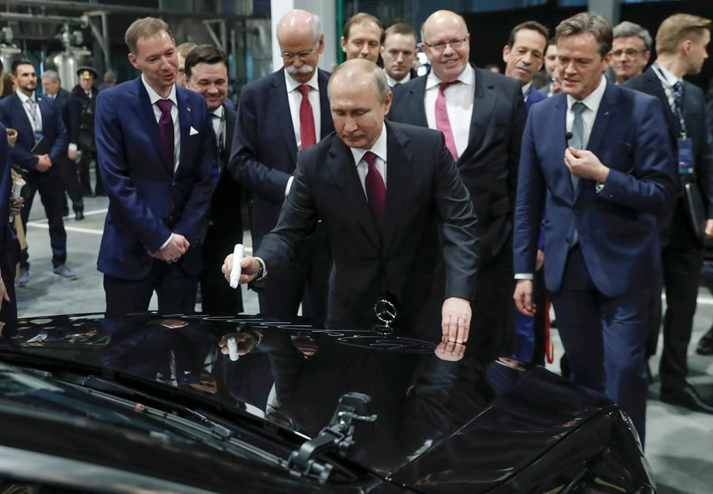 4a334d5945 German automaker Mercedes opens new Russia factory