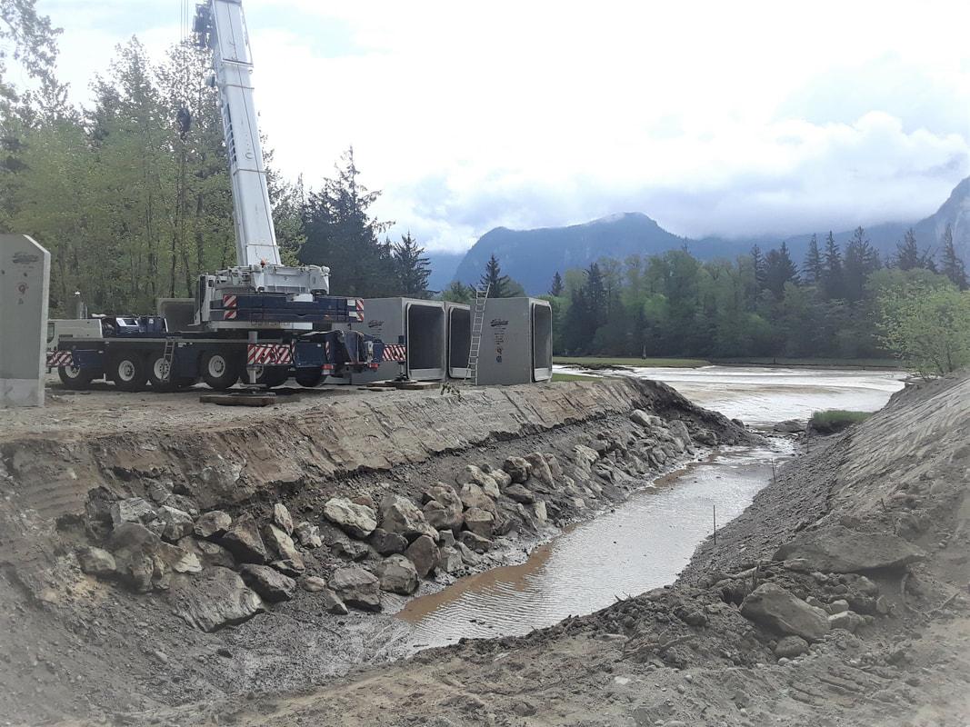 Salmon restoration project delays beach access in Squamish