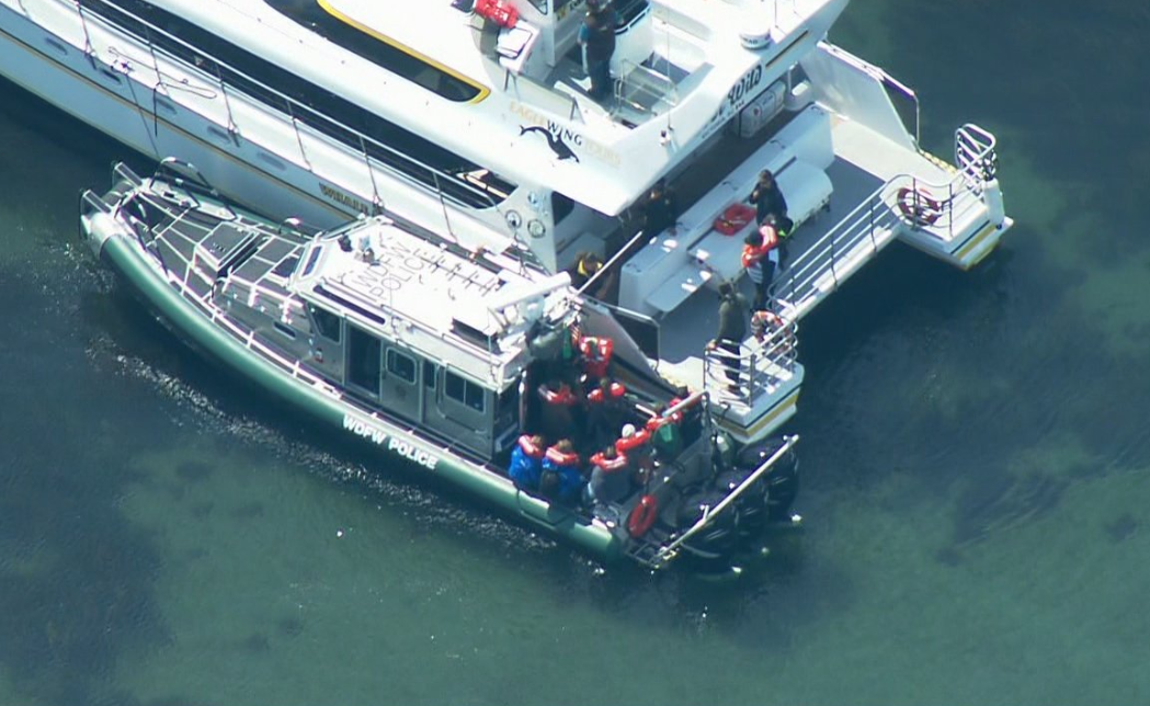 B.C. whale-watching boat evacuated after hitting rock