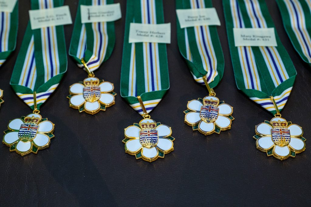 15 British Columbians receiving Order of BC